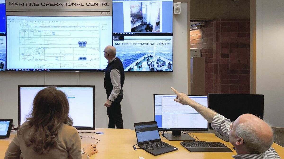 DNV GL supports remote inspections from its Maritime Operational Centre