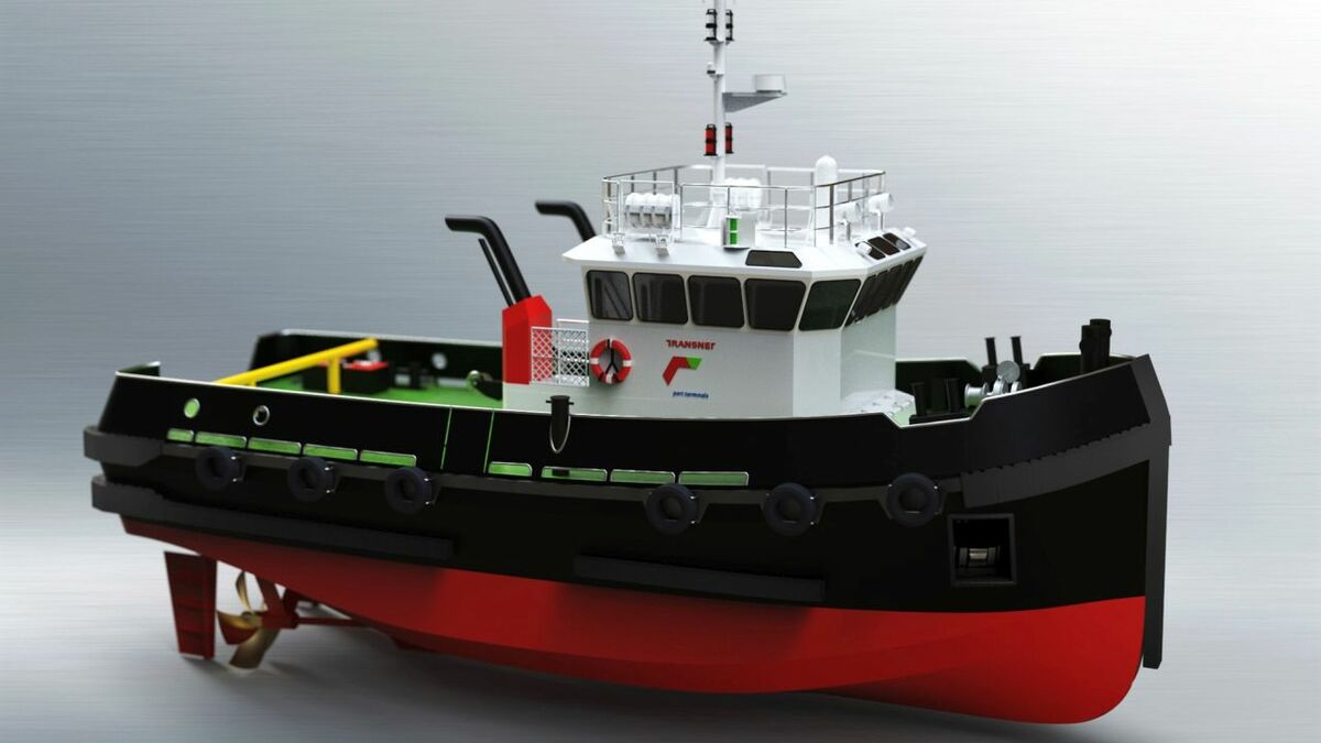 Design of tugs for South Africa Transnet National Ports Authority (source: Cummins)