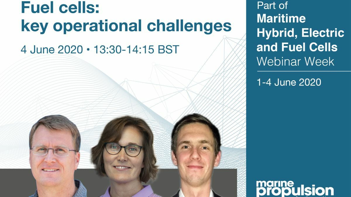 Fuel cells webinar panel: key operational challenges