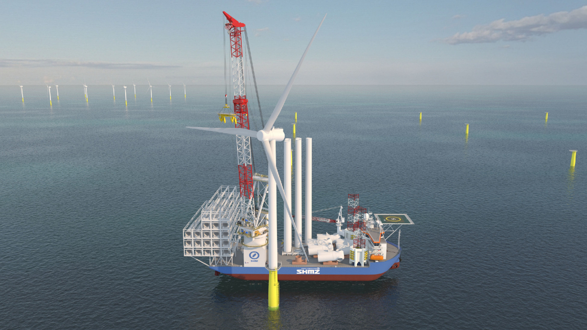 GustoMSC SC-14000XL – capable of installing wind turbines with capacities of 12 MW