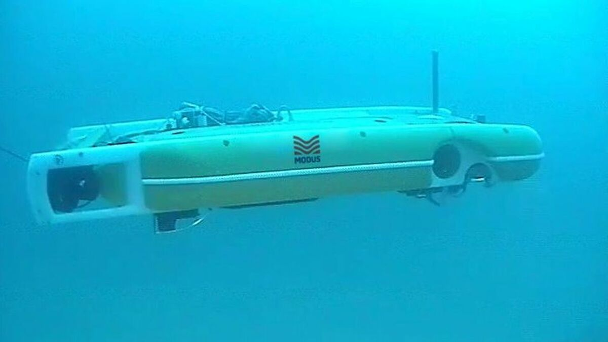 Hybrid AUV completes depth of burial survey at Gwynt y Mor offshore windfarm