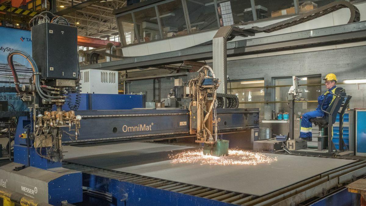 Rauma shipyard aiming for world-class status