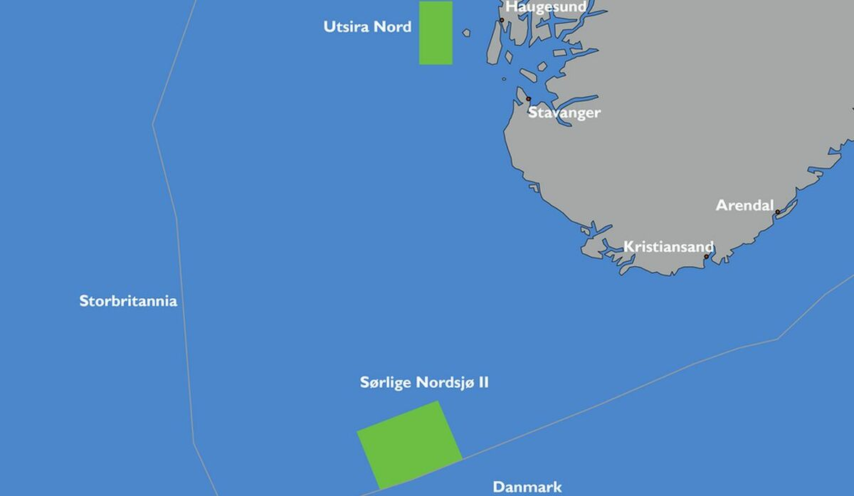 Both areas identified by Norway are suitable for floating wind