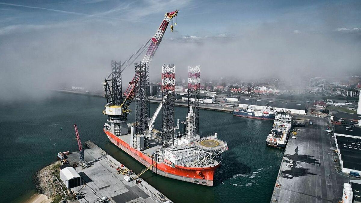 NOV to supply Cadeler with new crane for Wind Osprey
