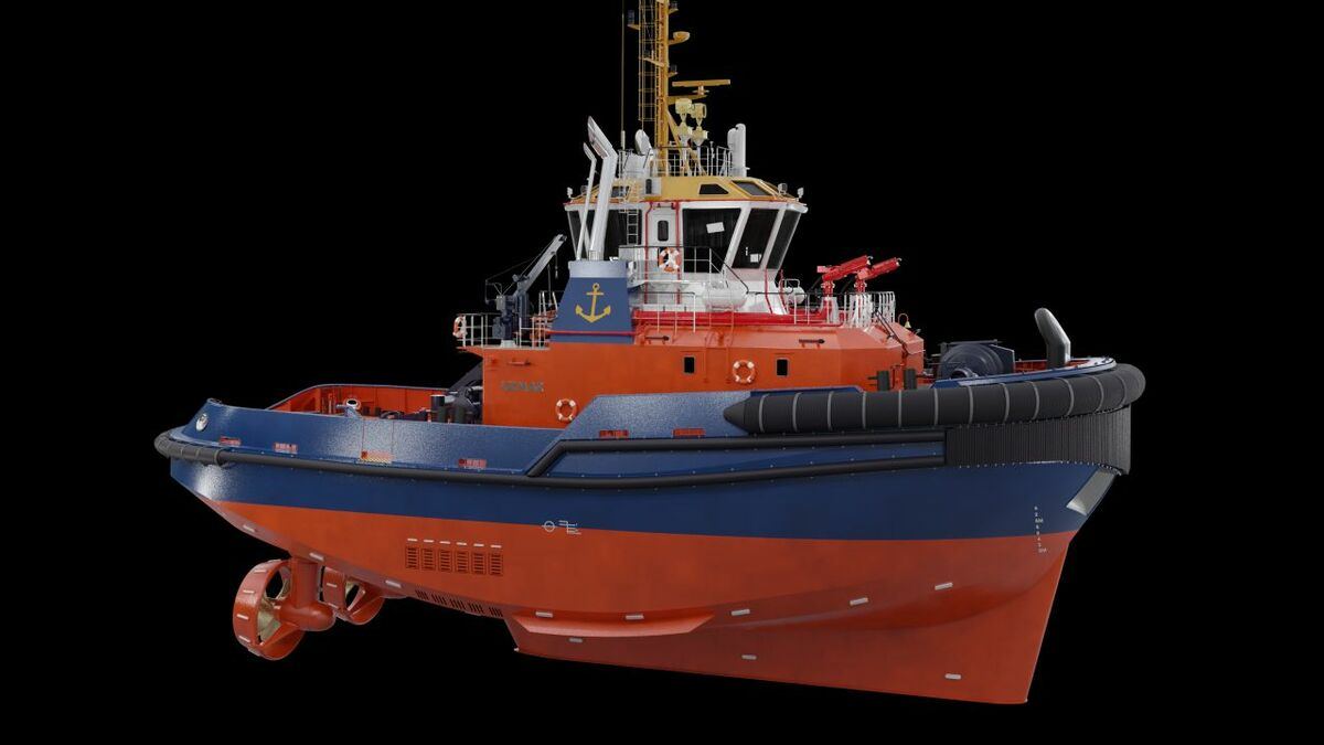 Uzmar Shipyard will build a tug to Robert Allan RAmparts-3000 design for Port of Aarhus