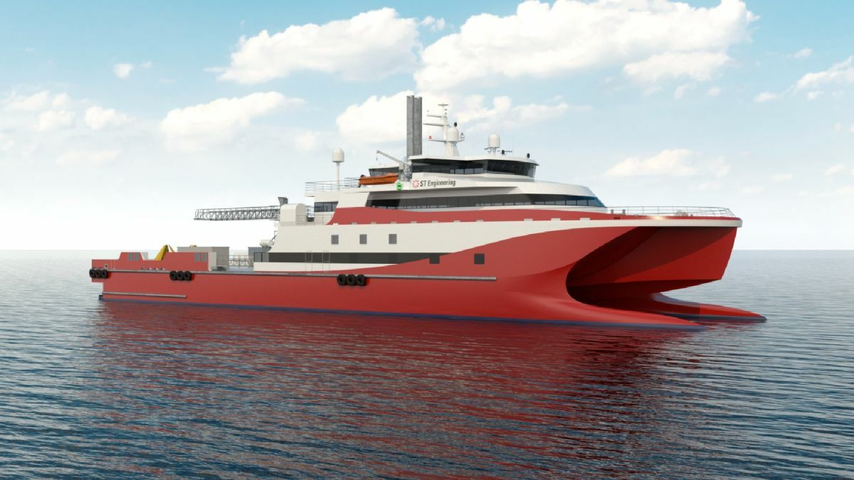 Fitted with a walk-to-work solution, the semi-SWATH crew boat will provide a stable platform for crew transfer