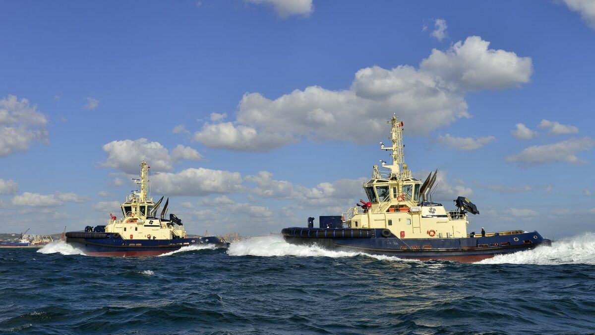 Sanmar has built 25 harbour and escort tugs for Svitzer