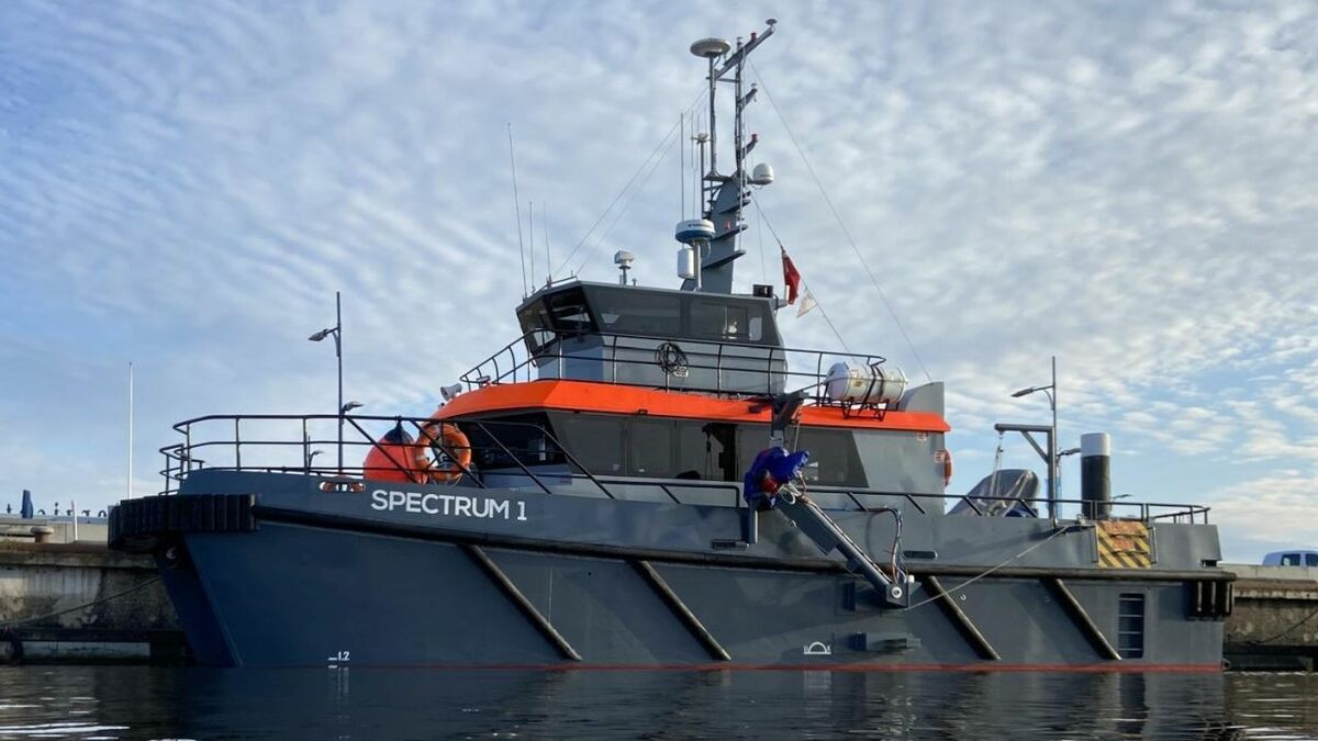 Spectrum Offshore's new vessel, Spectrum 1, combines survey, crew transfer and dive support capability