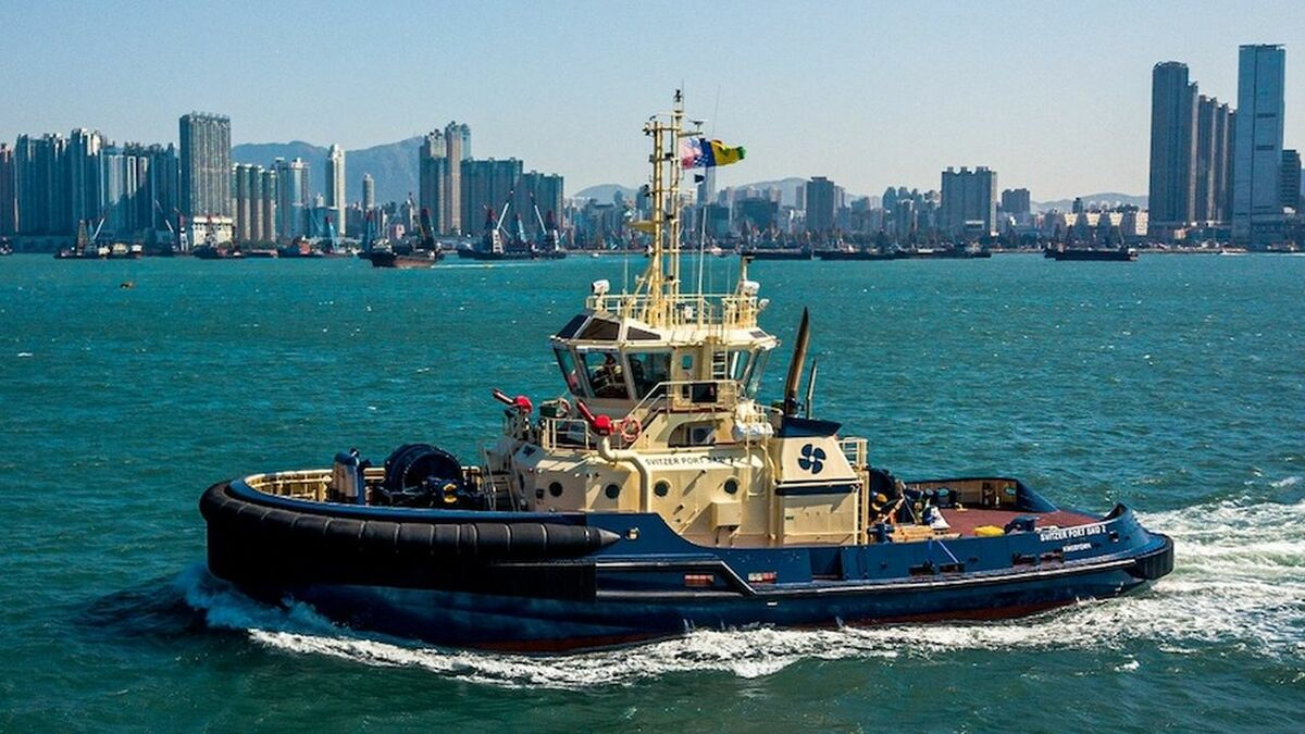Cheoy Lee built two tugs for Svitzer's operations in Port Said, Egypt