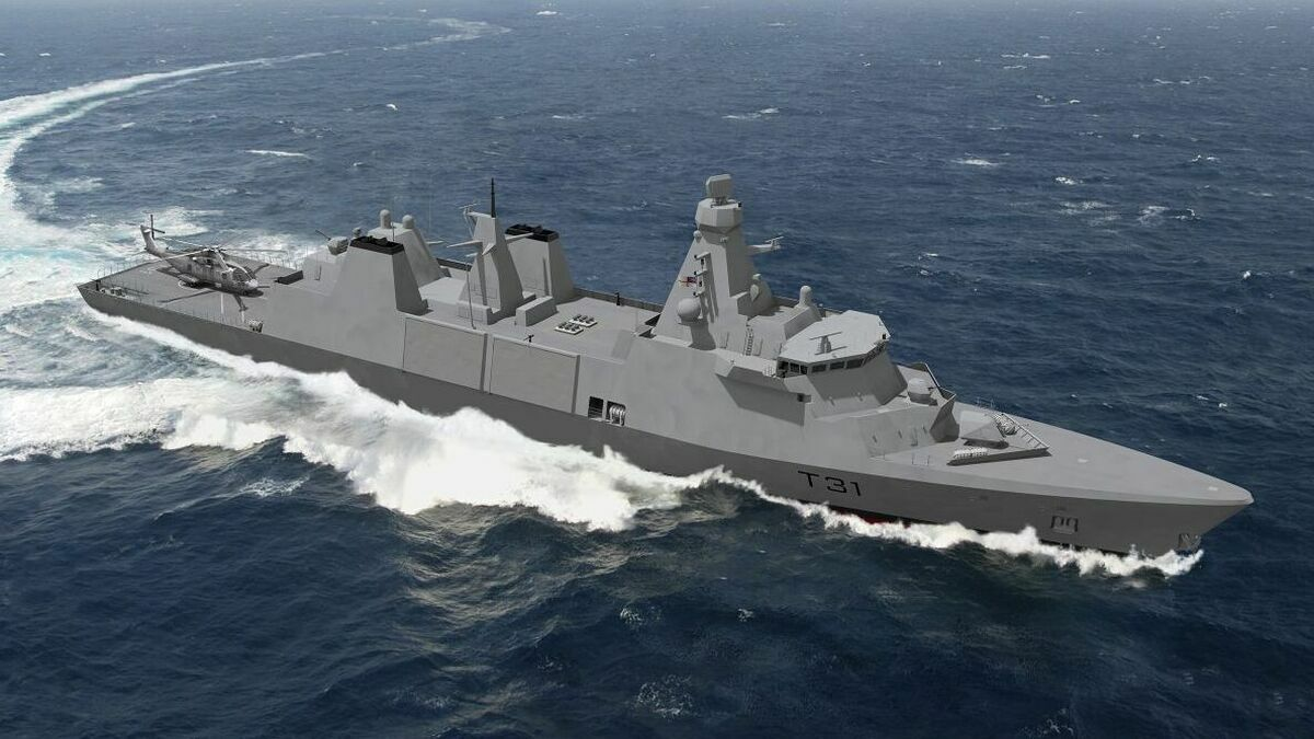 Each new Type 31 frigate of the Royal Navy will be powered by four MTU 20V 8000 M71 engines, each delivering over 8,000 kW (Image: Rolls-Royce)