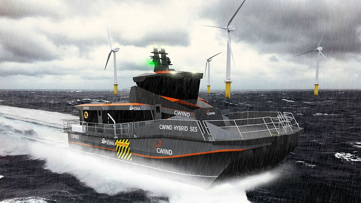 Global Marine Group is one of a number of companies investing in hybrid vessels
