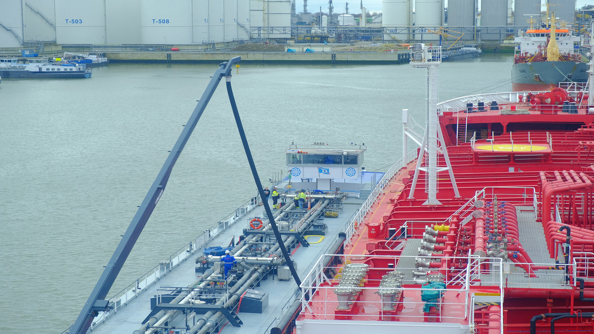 Stena Immortal used biofuel oil in tanks, storage and in its engines (Credit: Stena Bulk)