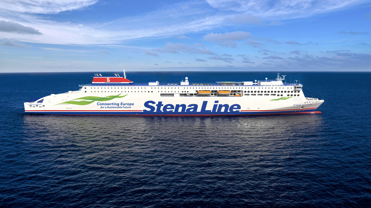 Construction begins on pair of Stena E-Flexer ferries