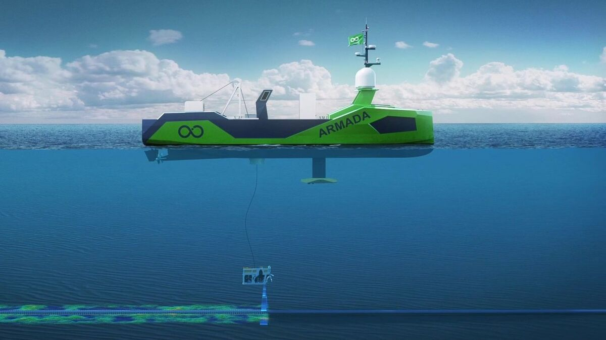 Volvo Penta and Editron to provide power for Armada uncrewed vessels