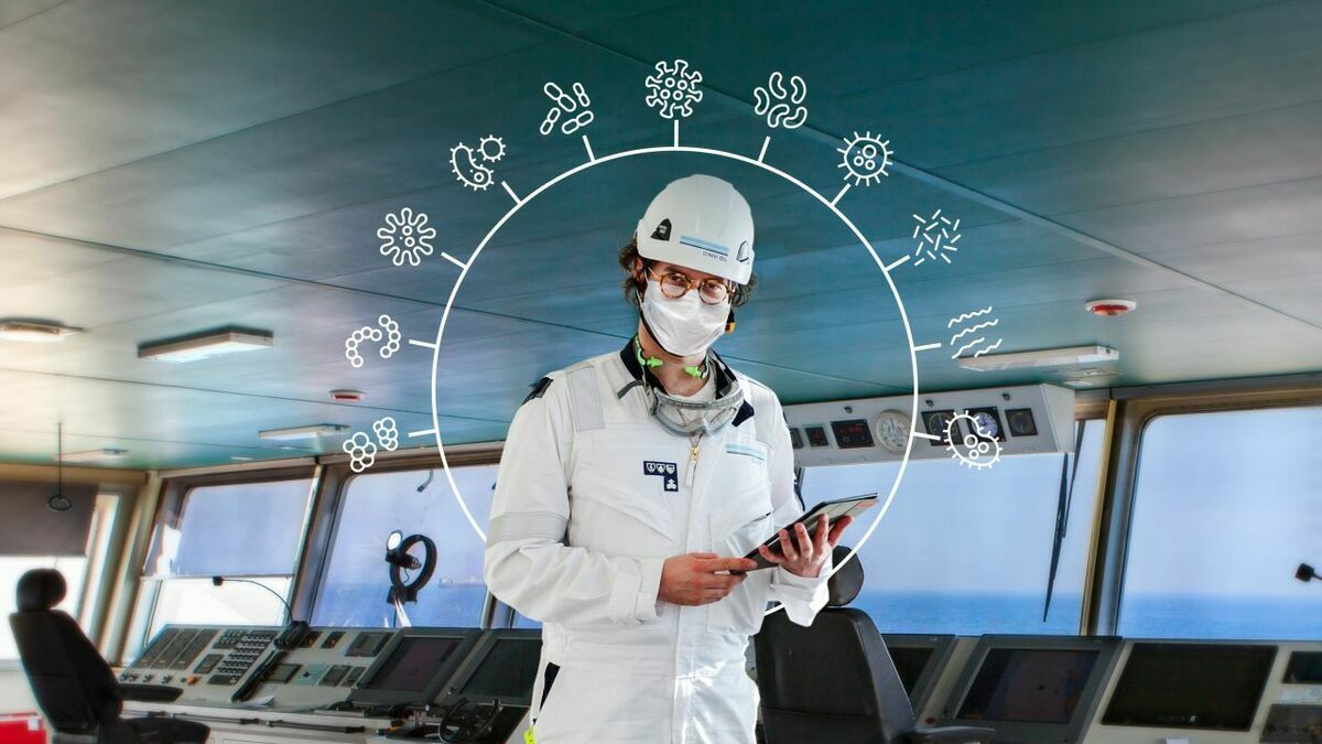 DNV GL is offering a new infection risk management framework (Credit: DNV GL)