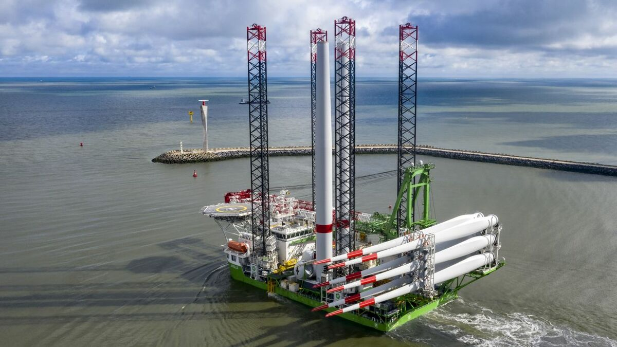 SeaMade is Apollo's first turbine installation project