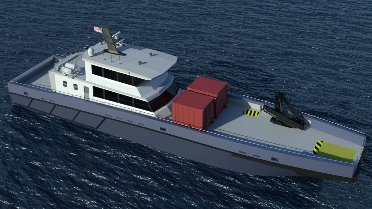 DLBA's SATV is designed to transport windfarm technicians and remain offshore