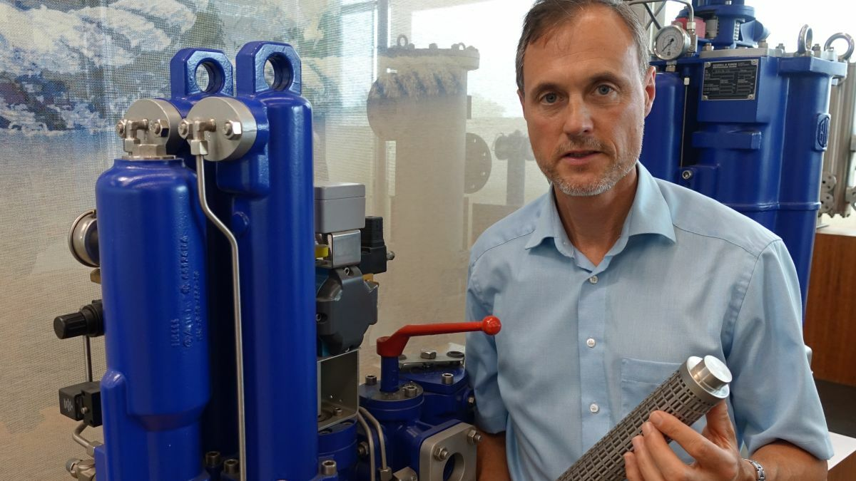 """Martin van Son (Boll & Kirch): """"Abrasive damage can lead to costly malfunctions or breakdowns"""""""
