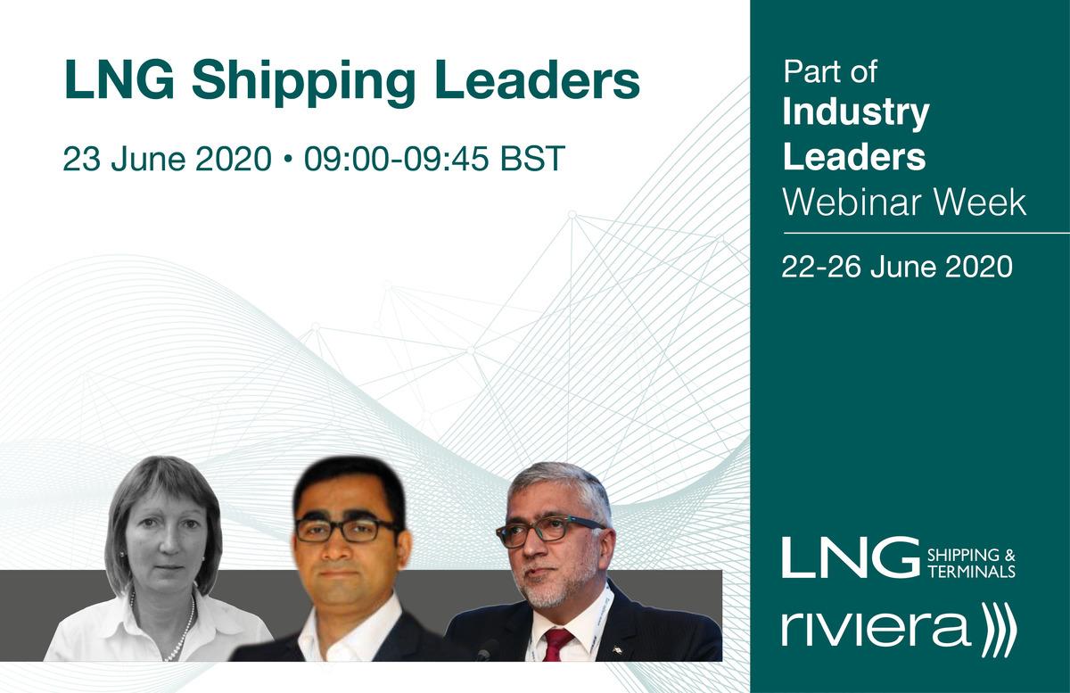 LNG Shipping Leaders' webinar presenters