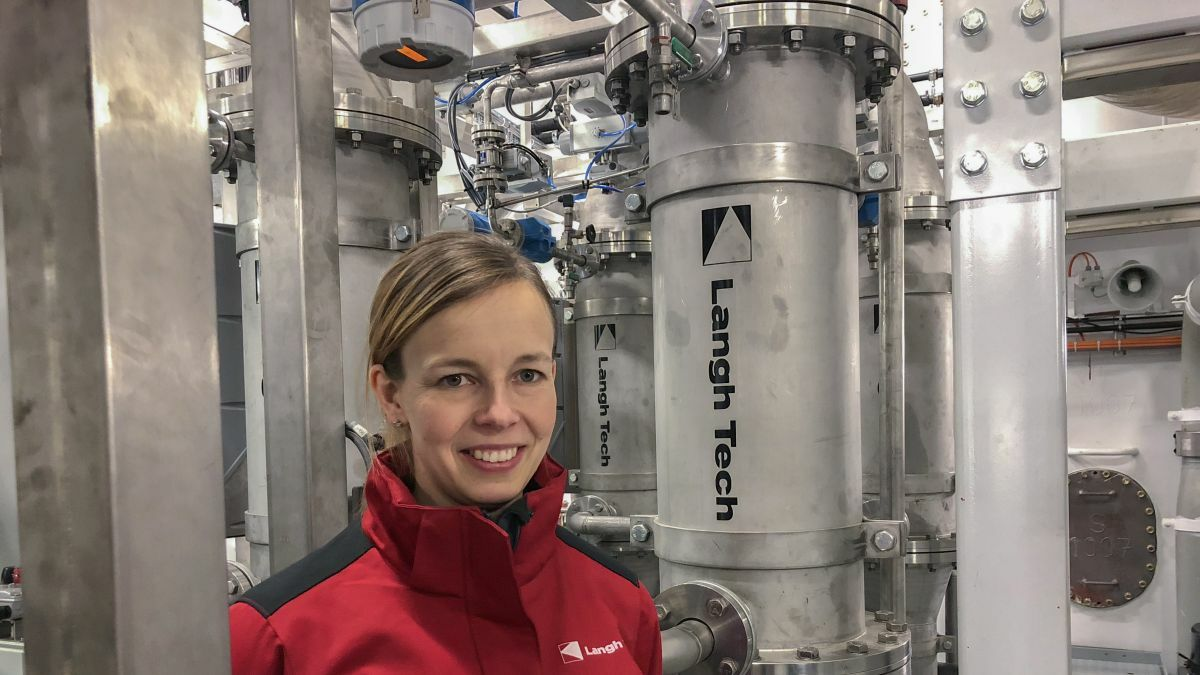 "Laura Langh-Lagerlöf (Langh Tech): ""Essential for scrubber manufacturers to work with suppliers that can deliver on time"""