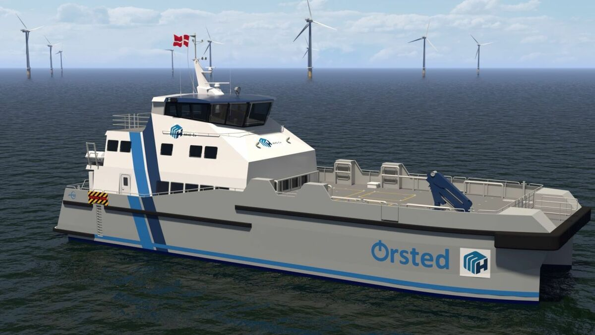 MHO-CO's hybrid CTV for Hornsea 2 will have electric motors and, potentially, fuel cells