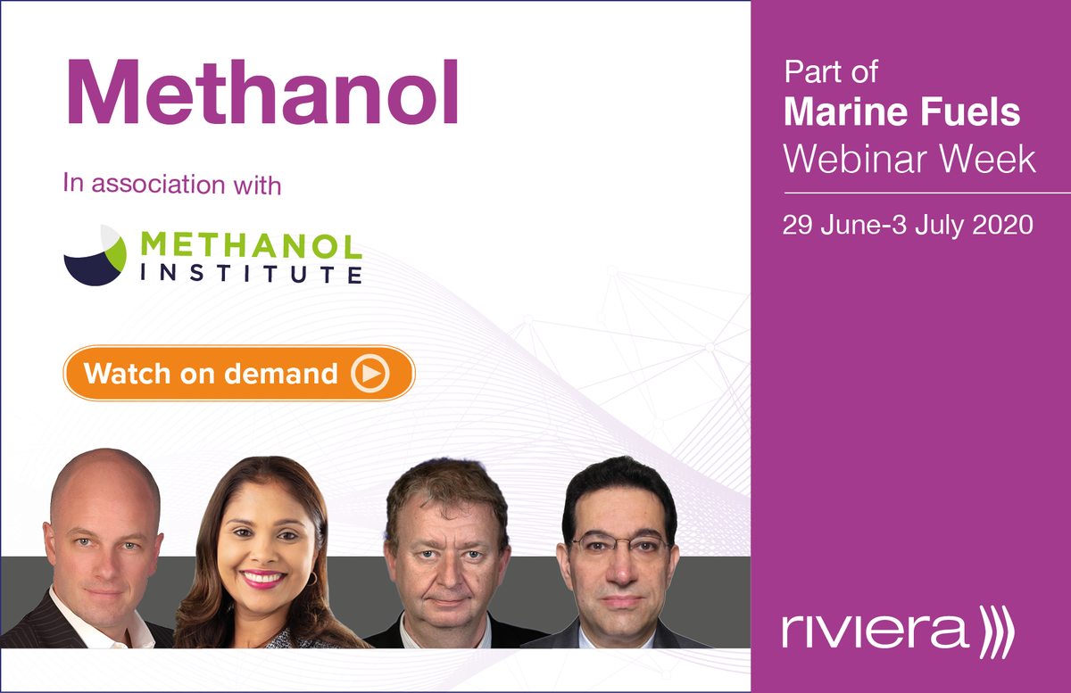 Marine Fuels: Methanol webinar panel