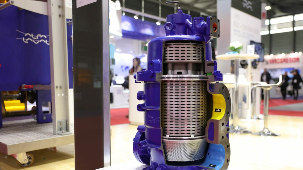 Alfa Laval's Moatti 290 hydraulic control oil filter, approved by MAN Diesel & Turbo