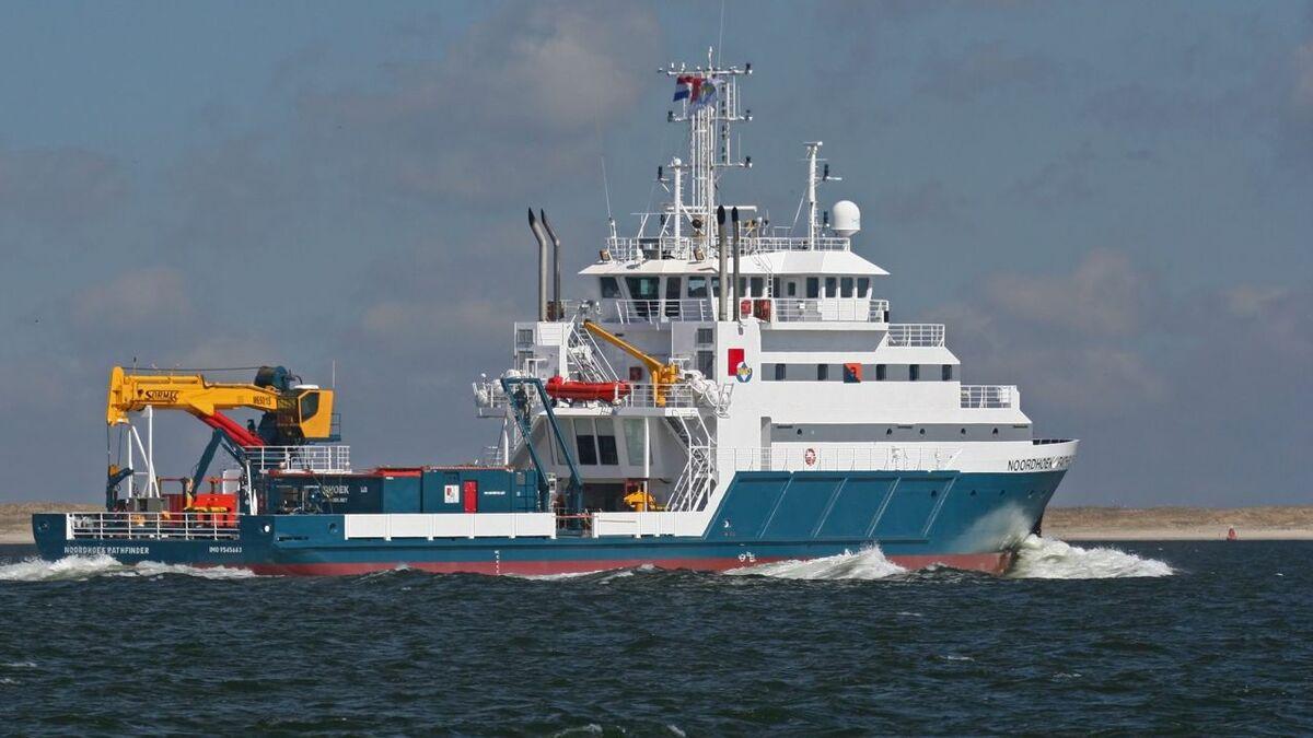 UXOcontrol undertook the project from its vessel Noordhoek Pathfinder