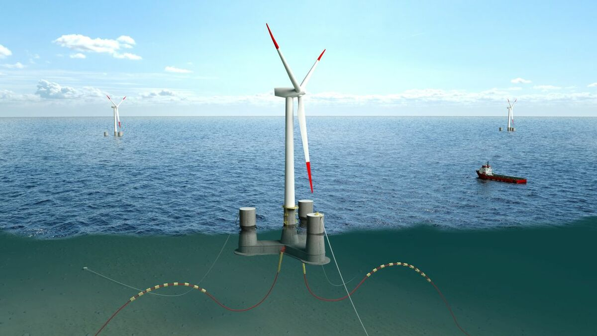 North Sea tests to highlight advantages of concrete semi-submersible