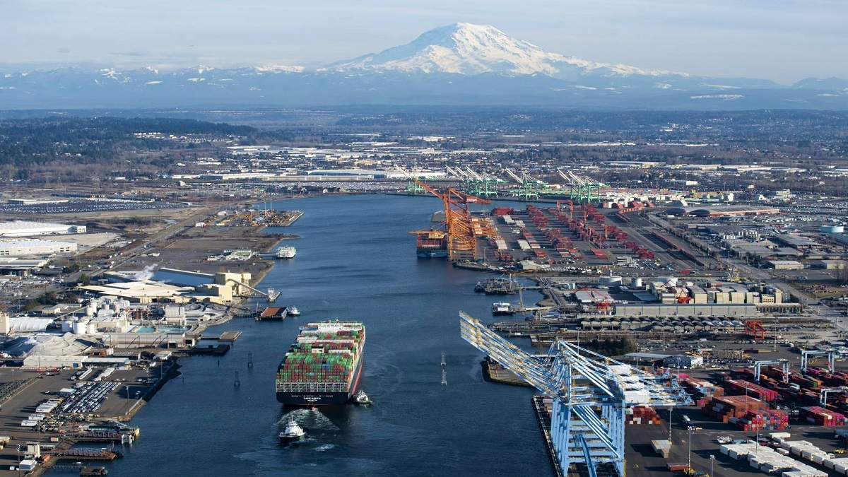 A hydrogen fuel-cell shore power solution is being developed for the Port of Tacoma