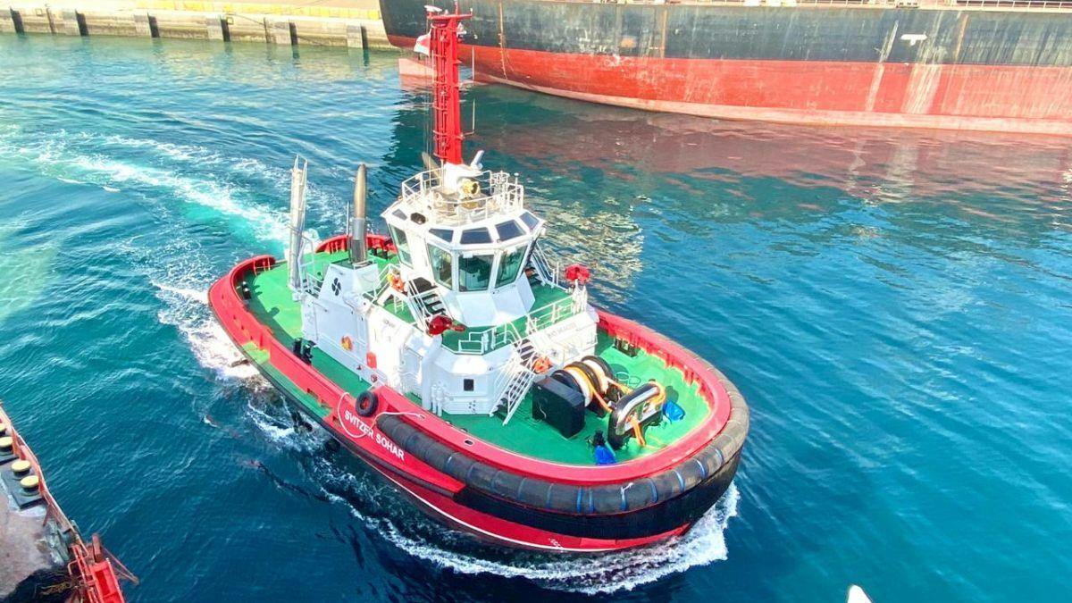 Sanmar built an ASD tug for Svitzer's operations in Sohar, Oman
