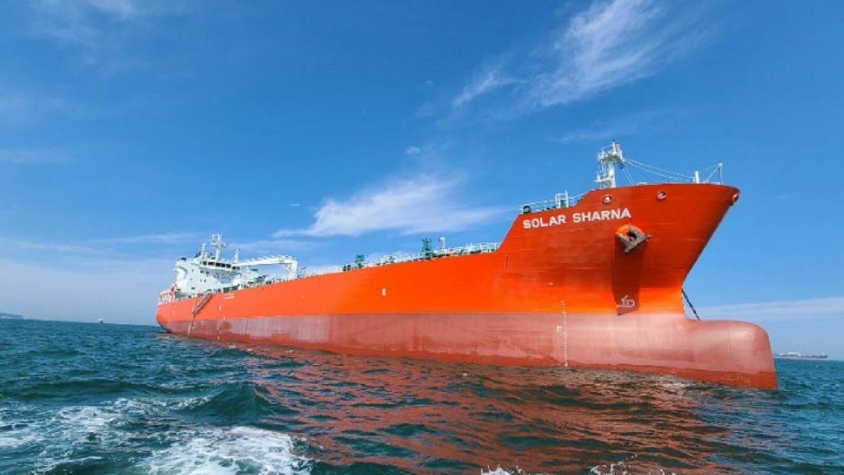 Tristar takes delivery of IMO2 chemical carrier newbuilding