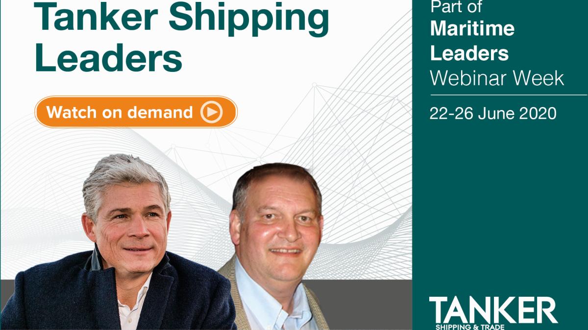 Tanker Shipping Leaders webinar