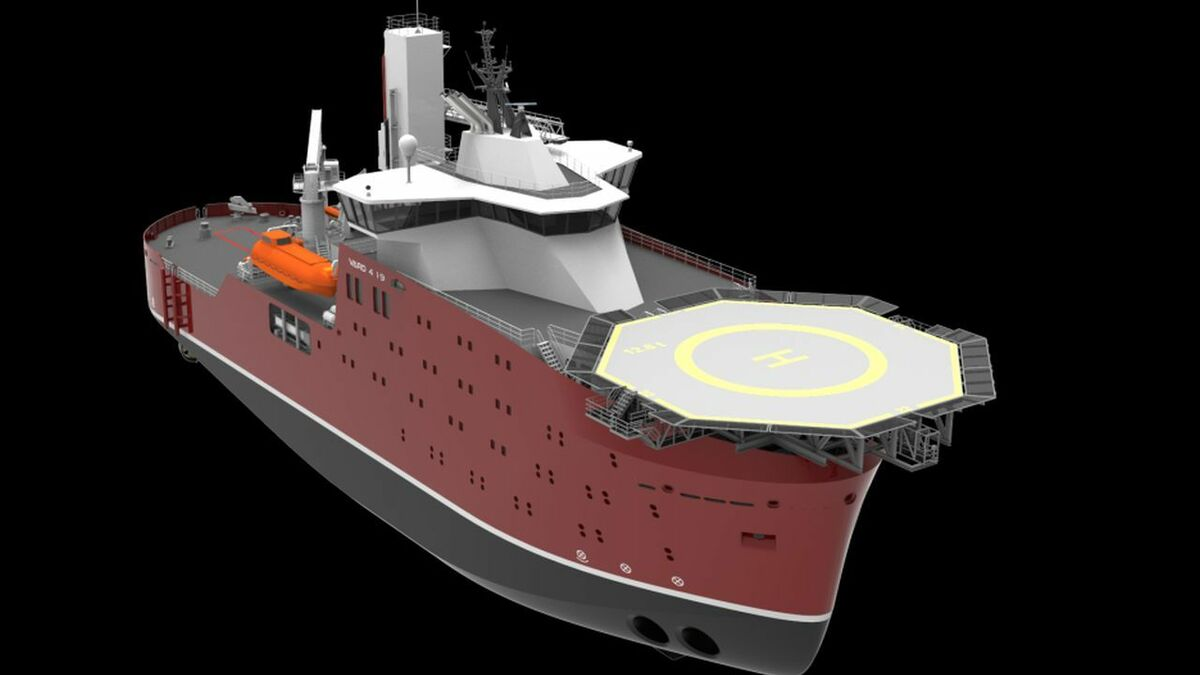 Vard secures second approval in principle for service operation vessel