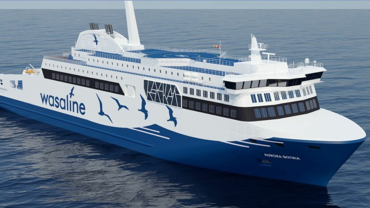 Wasaline's new ferry will use Carus digital technology for passenger cabin keys