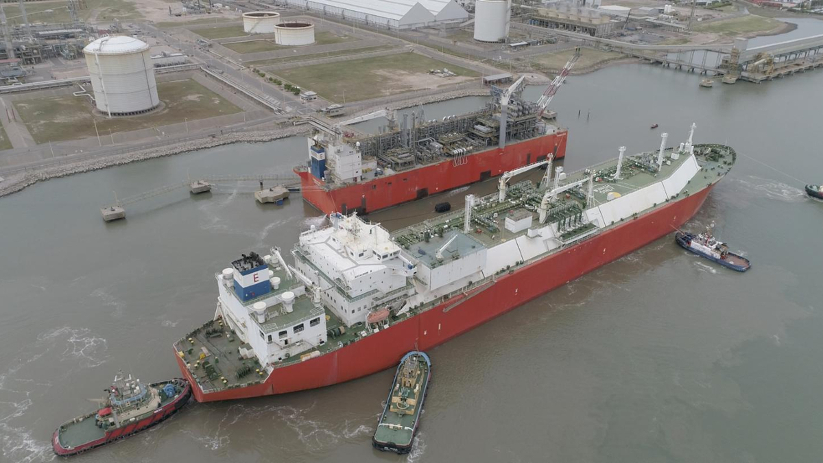 Exmar's Tango FLNG operates under a 10-year deal with Argentina's YPF