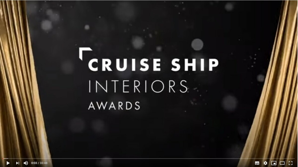 Cruise Ship Interiors Awards 2020
