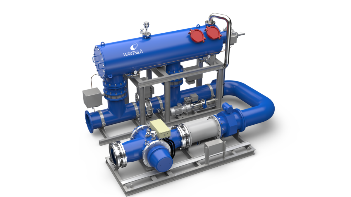 The Wärtsilä Aquarius UV BWMS has been tested and approved to the highest standards (Image: Wartsila)
