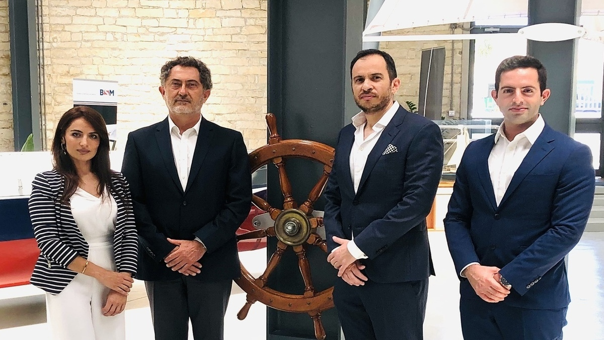 Zacharias Siokouros, CEO (CMMI) (second from left) said the institute hopes to promote innovations in maritime sector (Image: BSM)