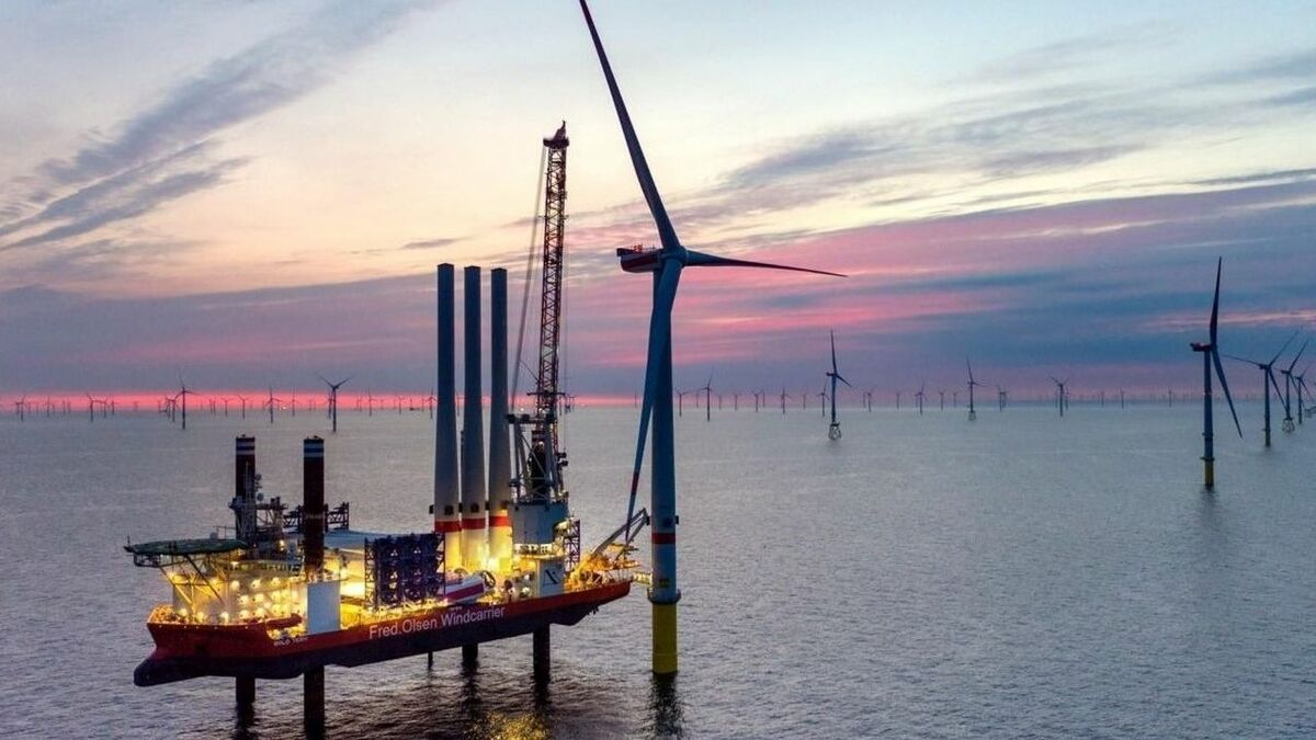 Borkum Riffgrund 2 has an installed capacity of 464.8 MW and commenced commercial operations in April 2019