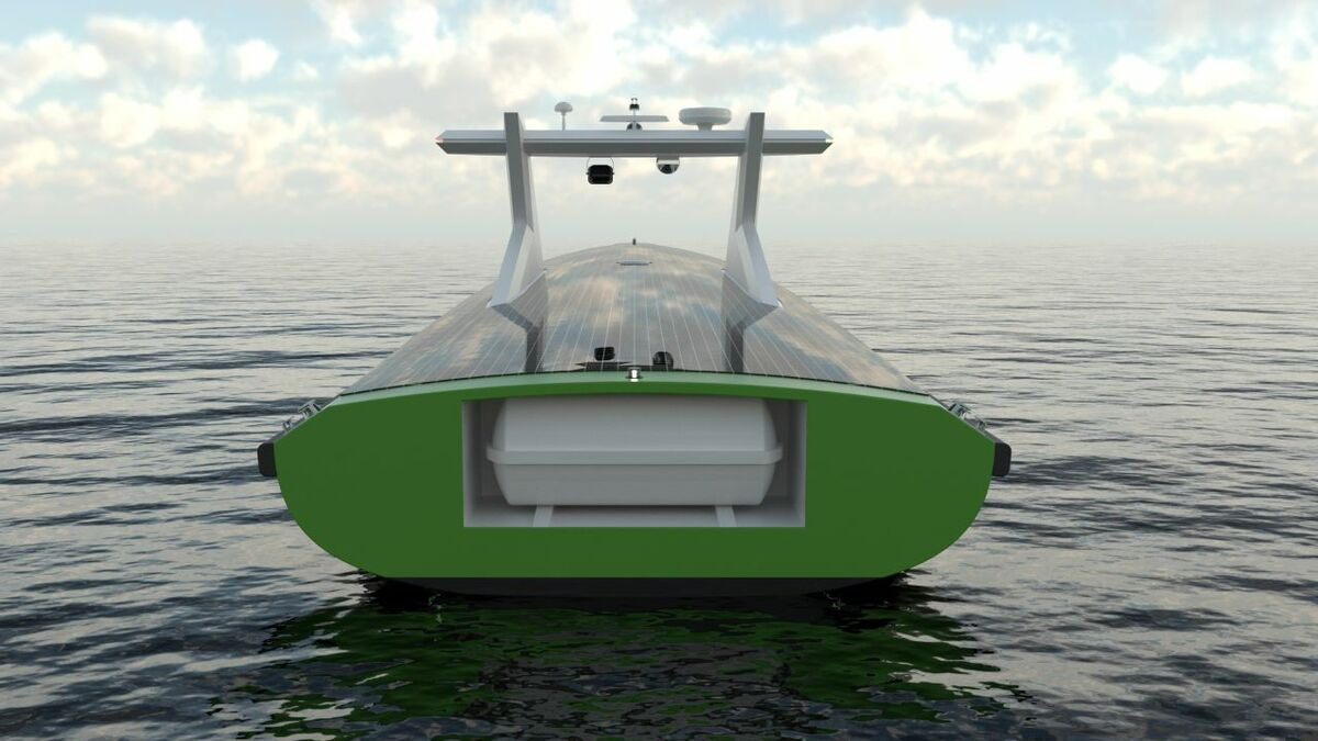 Without crew on board, an autonomous vessel could be smaller, lighter and more environmentally friendly