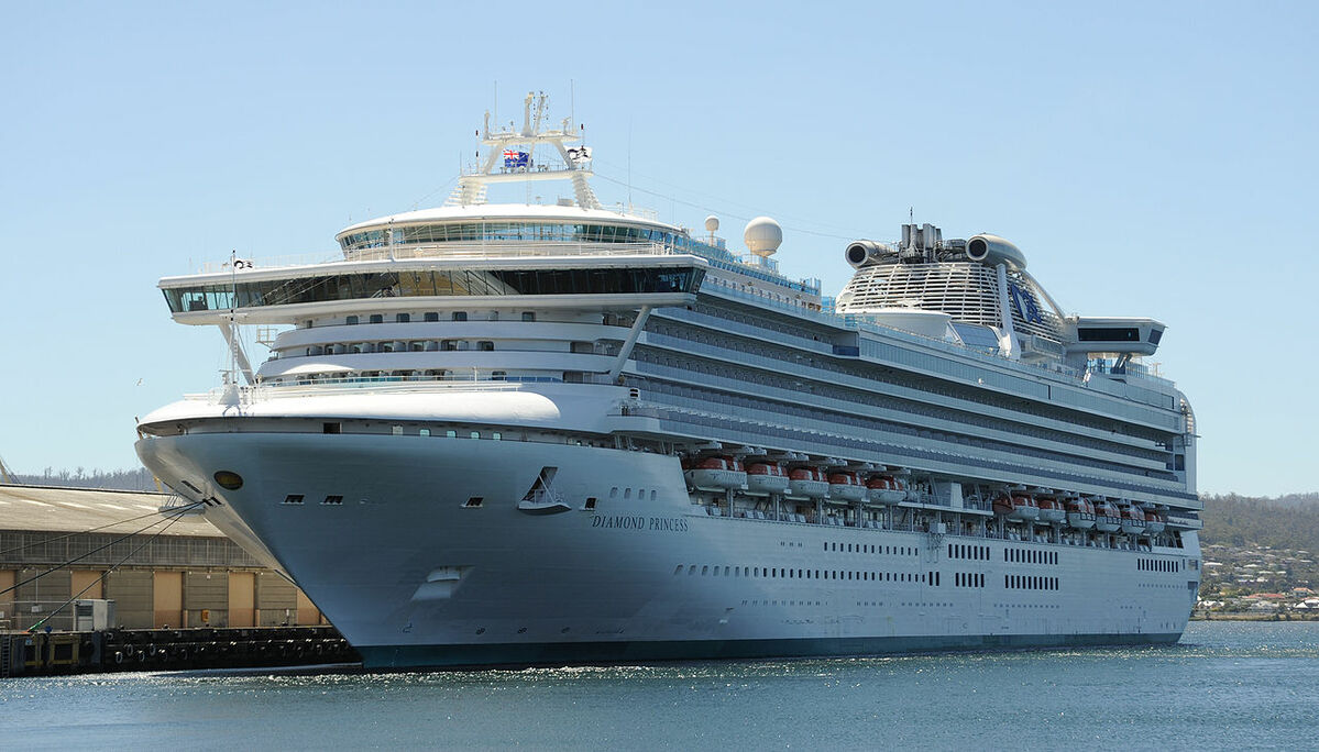 Diamond Princess cruise ship was infected by Covid-19