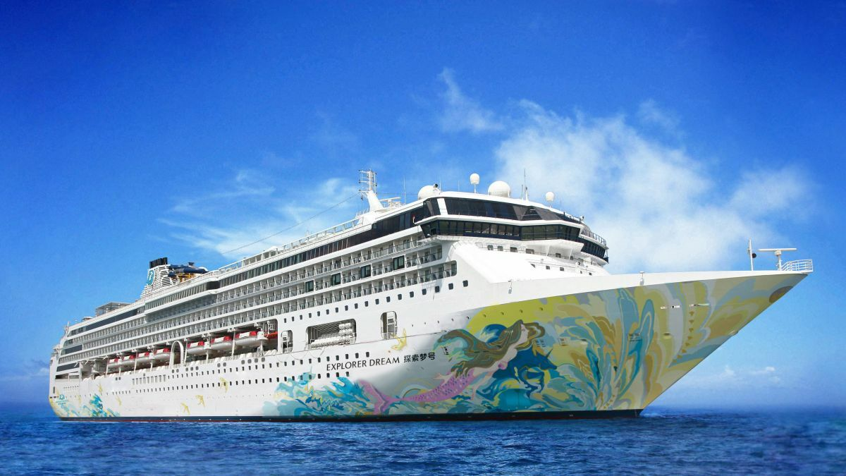 Dream Cruises' Explorer Dream is set to return to operation in Taiwan in late July (Image: Genting Cruise Lines)
