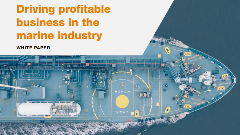 Driving profitable business in the marine industry