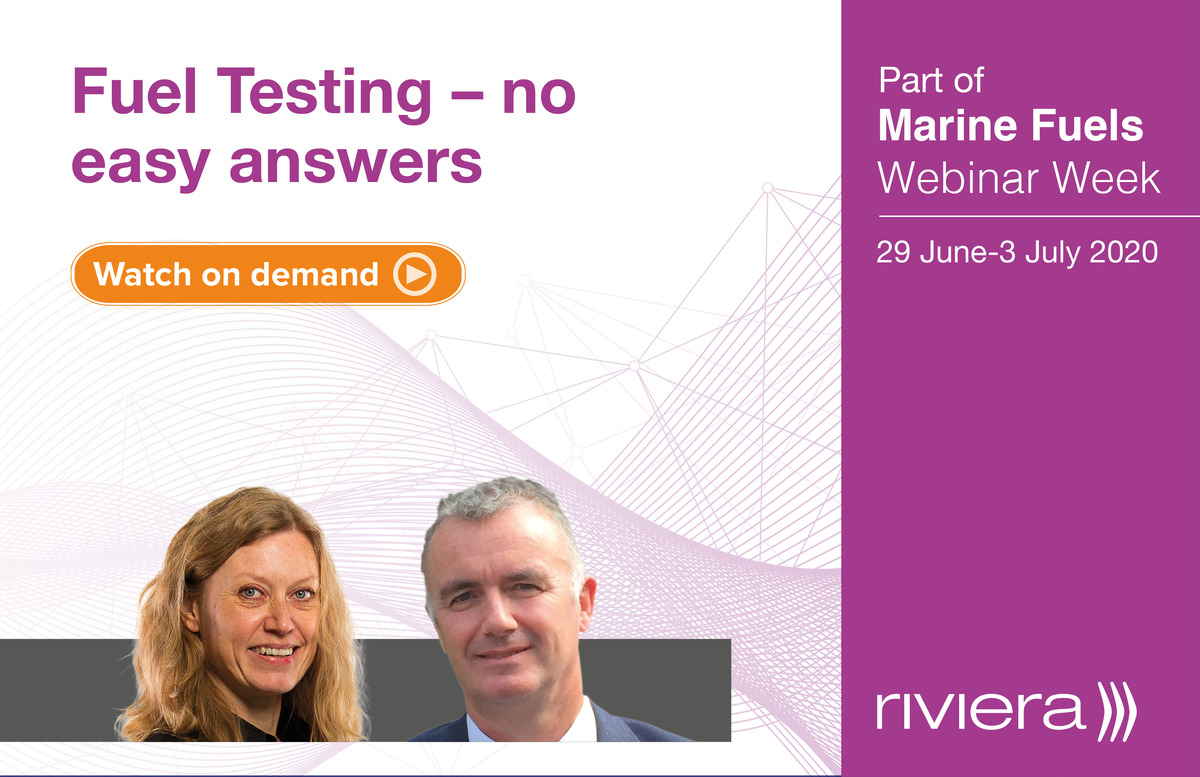Fuel Testing – no easy answers webinar panellists