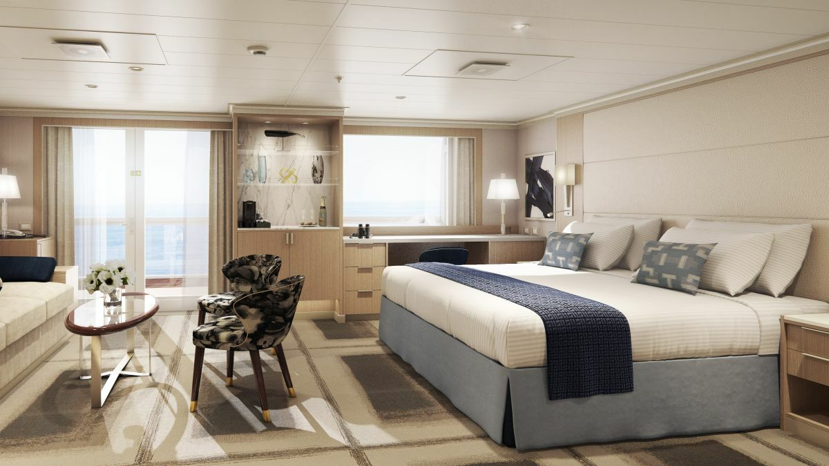 A suite that Ms Nguyen has designed for one of HAL's upcoming newbuilds (credit: Holland America Line)