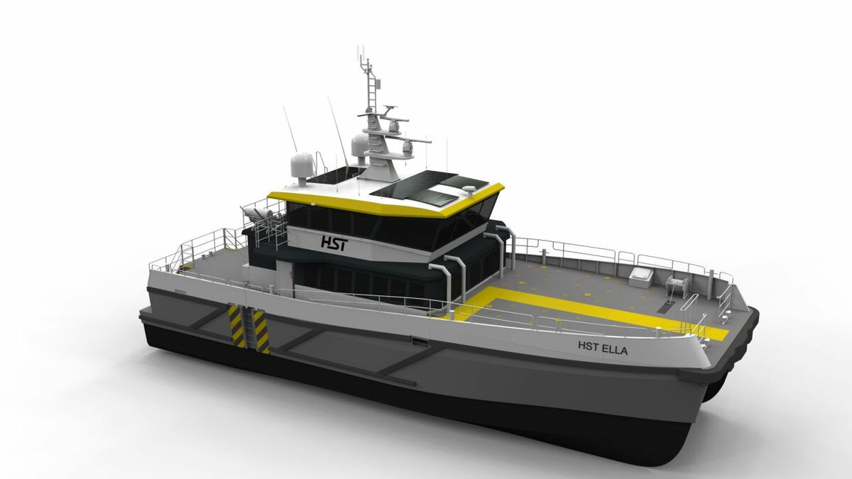 High Speed Transfers' new vessel will have an electric motor for zero-emissions mode operation