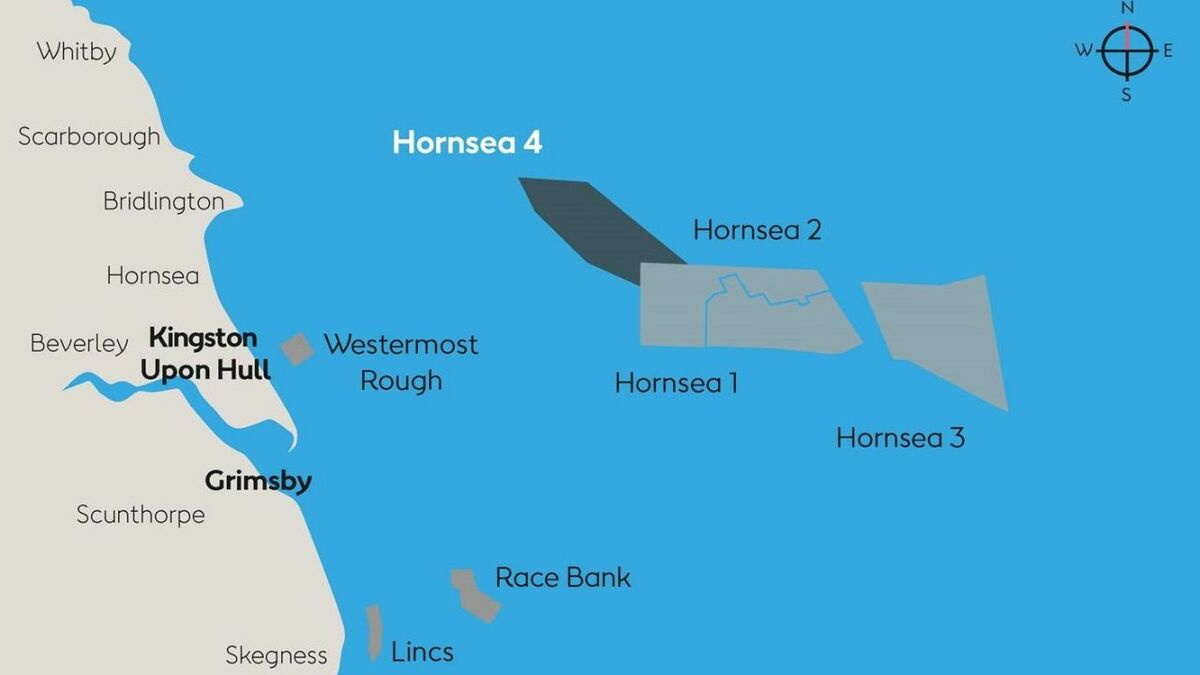 Hornsea Project Three is one of a number of huge offshore wind developments in the North Sea