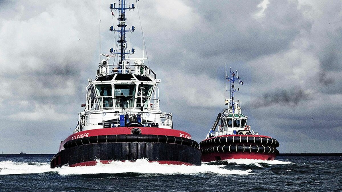 Kotug operates Rotortugs for LNG carrier handling