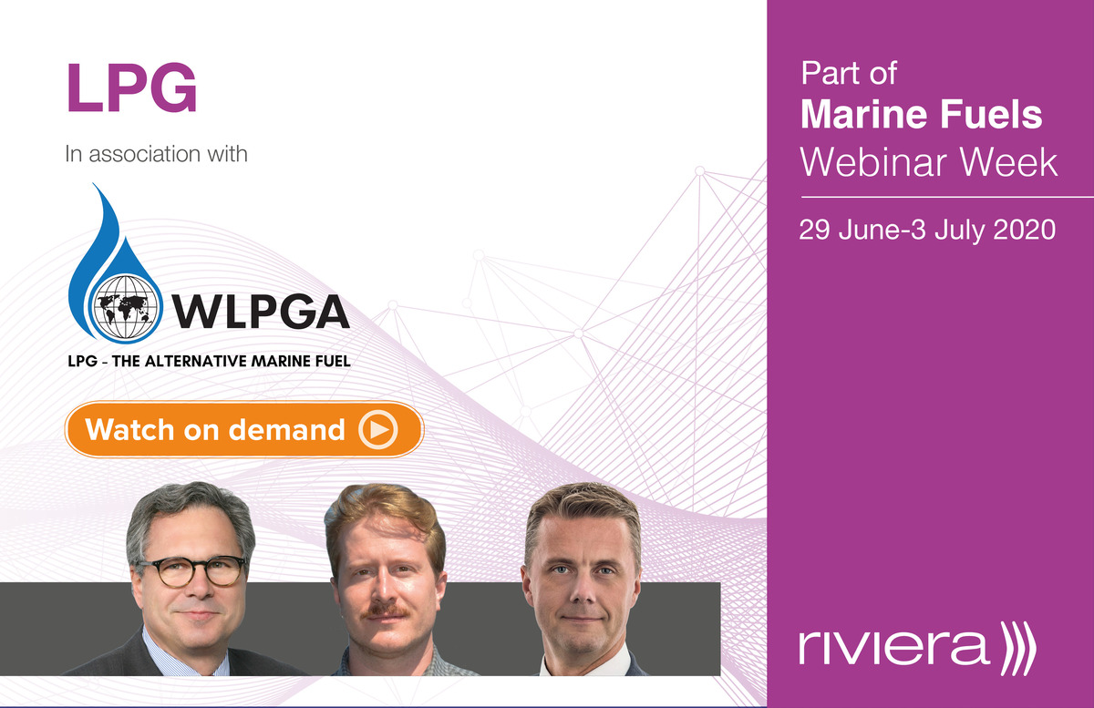 Marine Fuels: LPG webinar panellists